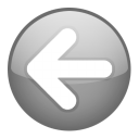 left, prev, backward, back, arrow, previous icon