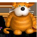 cat, teddy bear, toy icon