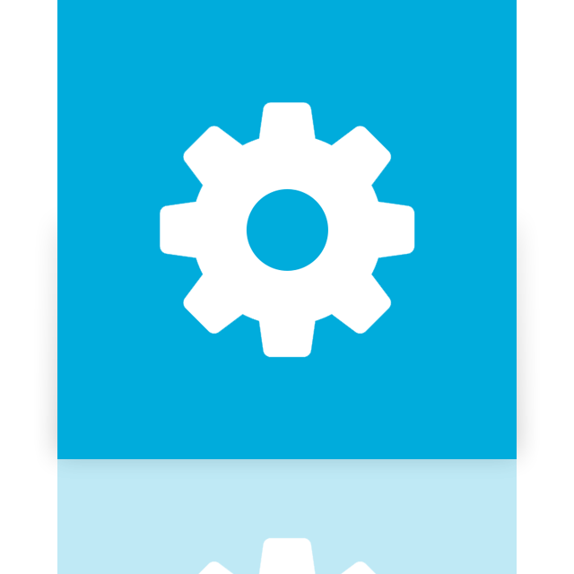 mirror, alt, configure icon