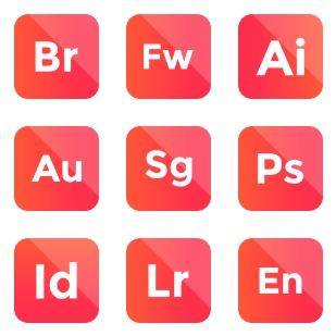 Adobe vol 6 icon sets preview