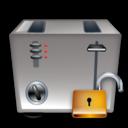 Toaster, Unlock icon