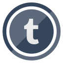 tumblr, social, internet, media, network icon
