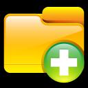 add, plus, folder icon