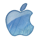 logo, apple icon