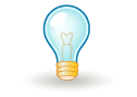 Idea, Light, Lightbulb icon