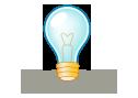 lightbulb, idea, light icon