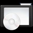 dark,folder,music icon