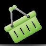 shopping basket, ecommerce, webshop icon