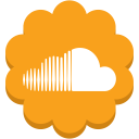 soundcloud, media, social, round, music, flower icon
