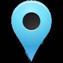 marker, nounproject, base, azure, outside, map icon