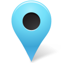 marker, outside, azure, mapmarker icon