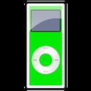 2g, green, nano, ipod icon