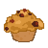 cranberry,walnut,muffin icon