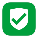 security, approved, metroui icon