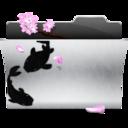 download,folder,descending icon