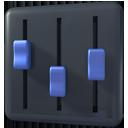 volume, player, mixer icon