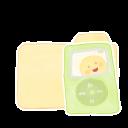 Ak, Folder, Music, Vanilla icon