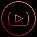 social, app, film, media, youtube, video, music icon