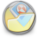 orb, mypictures icon
