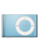 shuffle, ipod, baby, blue icon