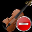 Delete, Violin icon