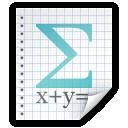 math, file icon