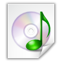 file, sound, music icon