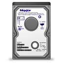 vertical, maxtor icon
