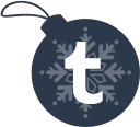 tumblr, ball, christmas icon