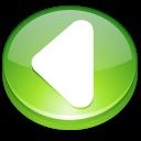 Action arrow left icon
