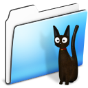 cat,folder,smooth icon