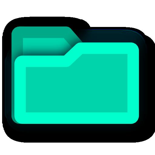 light, energy, hint, green, folder, blue, tip icon