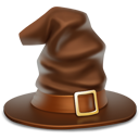 witch hat, hat, halloween icon