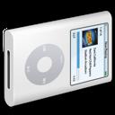 white, ipod icon