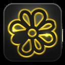 Glow, Icq, Neon icon