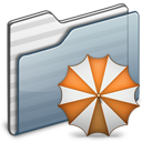 folder, backup, graphite icon