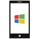 smart phone, windows phone icon