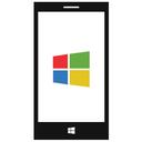 smart phone, windows phone icon
