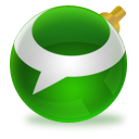 technorati, christmas icon