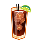 Cocktail, Cuba, Libre icon