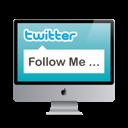 social network, screen, sn, monitor, mac, display, computer, twitter, social icon