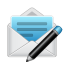 message, compose, envelop, mail, letter, email icon