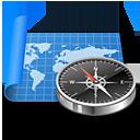 Atlas, Compass, Exploration, Map, Navigation, Sailing, World icon