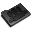 Groups Black icon