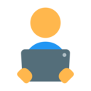 reading ebook icon