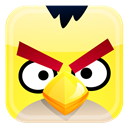 Angry, Bird, Yellow icon