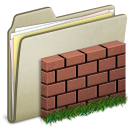 Lightbrown, Wall icon