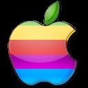 Apple multicolor icon
