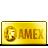 card, gold, credit, amex icon