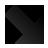 bottom, arrow, rigth icon